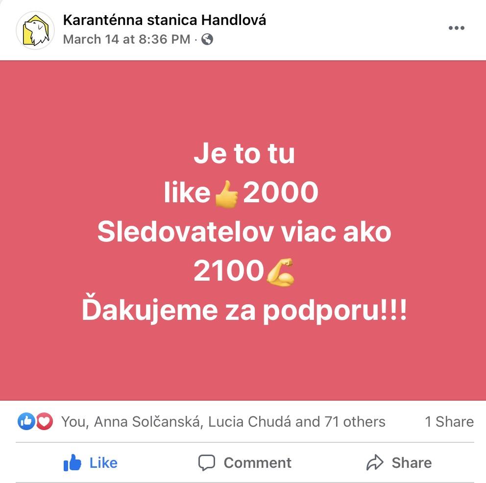 2000 lajkov!